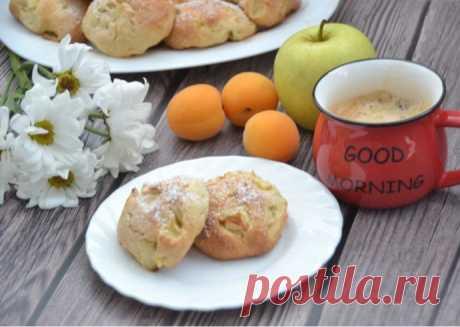 Итальянское печенье с яблоками