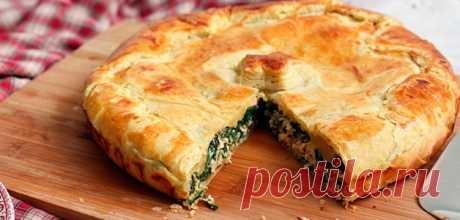 Пирог со щавелем — Sloosh – кулинарные рецепты