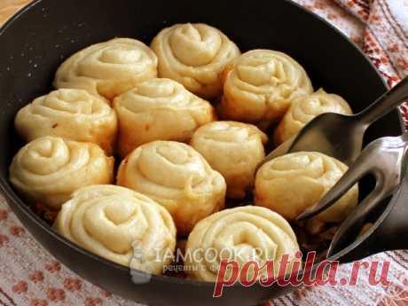 Штрудли по-немецки — рецепт с фото Традиционный рецепт немецких штрудлей со свининой и квашеной капустой. Отличное и сытное второе обеденное блюдо на каждый день.