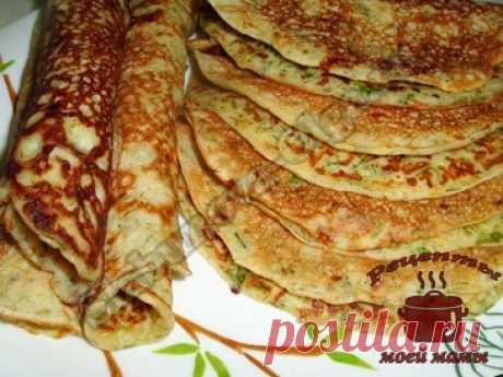 (+2) Кулинарные рецепты моей мамы. Готовим вкусно. Блинчики с сыром и зеленью (home.cookery.rechepti) : Рассылка : Subscribe.Ru