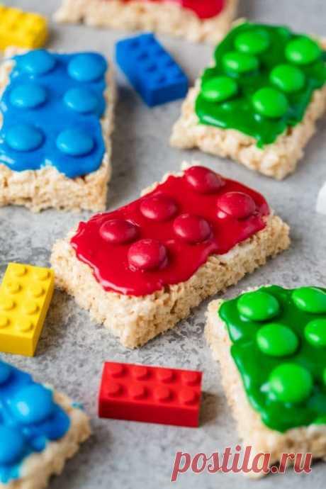 Печеньки в виде LEGO (DIY)