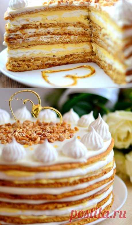 "With love, taste and beauty... : Медовый торт ""Полет шмеля"" (на мед) или ""Мое сладкое утро"""