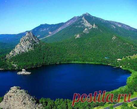 Озеро БОРОВОЕ (Казахстан)