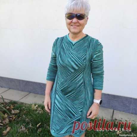 Вязанное платье | Вязание для женщин спицами. Схемы вязания спицами