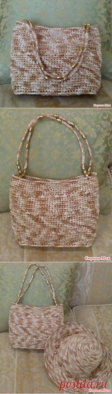 be5959e9f003 пляжная сумочка крючком - Вязание - Страна Мам
