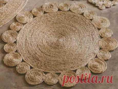 ¡Los tapices pequeños de estilo de la cuerda … son puntuales, todas las vecinas envidiarán!   hdok.ru - desarrolla el hobby con nosotros.