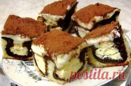 """Шоколадный пирог """"Утренняя роса"""" - безумно вкусно и удивительно красиво!"""