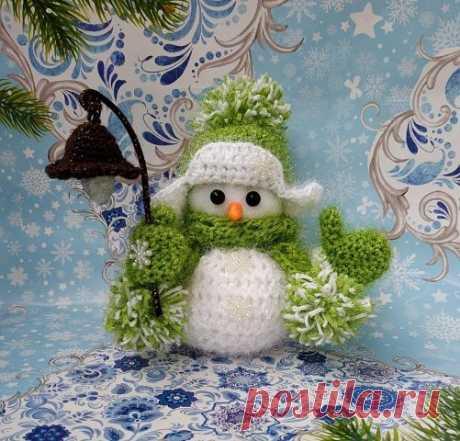 Волшебные новогодние снеговички. Как Вам творчество?