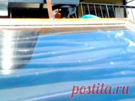 ▶ Солнечный водонагреватель своими руками - YouTube