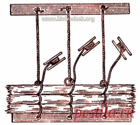 El tejido de la estera de la paja \/ www.klubochek.org