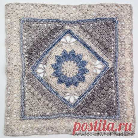 Charlotte - Large Crochet Square