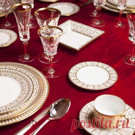 Стильные идеи для сервировки новогоднего стола