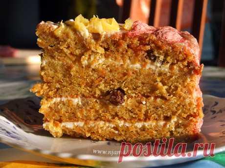 Самый вкусный в мире морковный торт