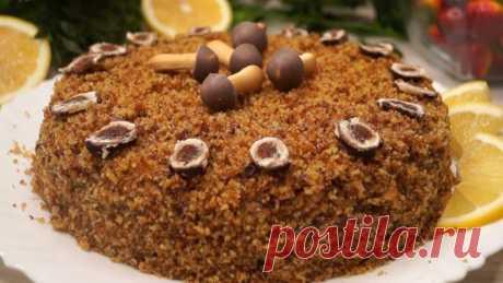 Торт «Экономный», без яиц и масла. Хит сезона!
