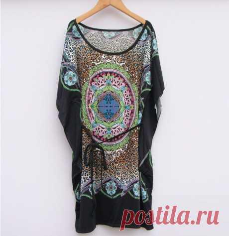 Платье  Арт № WOM 067 Размер: Бюст 120   Длина 76 Ткань: шелк, полиэстер
