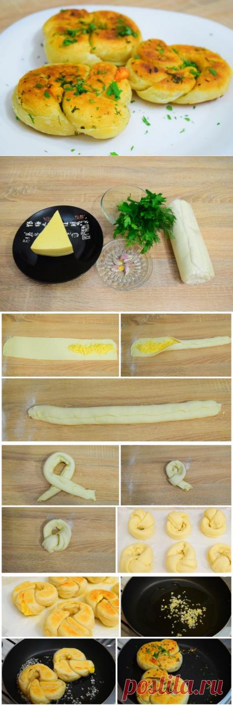 Булочки с сыром