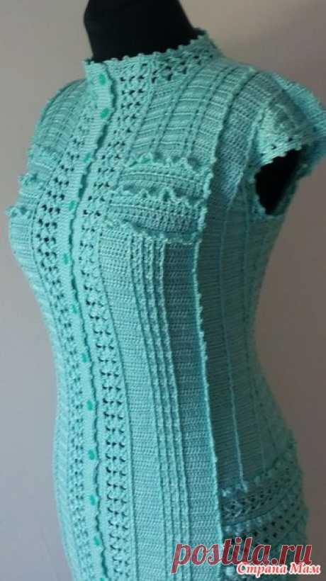 """Mi copia del vestido \""""vintazh\"""" - la Labor de punto - el País de las Mamás"""