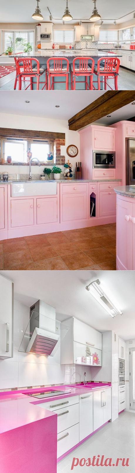 Розовая кухня: это не китч и любовь к Барби. Это действительно ВАУ!