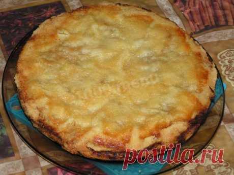 Яблочный пирог в мультиварке открытый рецепт с фото пошагово - 1000.menu
