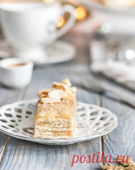 Семейный рецепт торта «Наполеон» | HomeBaked