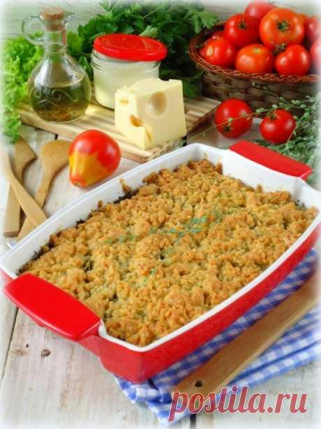 Кабачковый крамбл - пошаговый рецепт с фото - как приготовить, ингредиенты, состав, время приготовления - Леди Mail.Ru