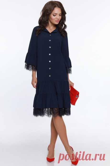 Платье DSTrend 586-911: купить за 3360 руб в интернет магазине с бесплатной доставкой