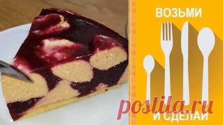 Творожный Торт-суфле на Новый год 2020!