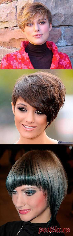Прически на короткие волосы 2014 (65 фото) видео