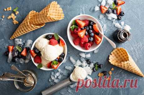 Веганское ванильное мороженое | Vegetarian.ru