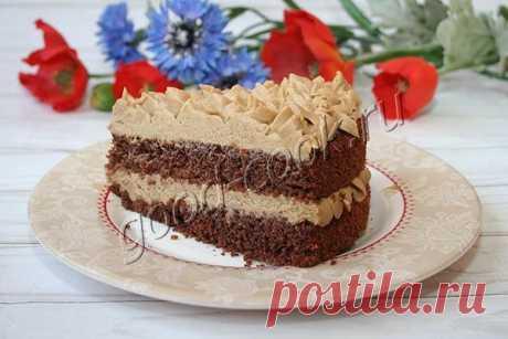 """Торт """"Кофейный"""". Рецепт приготовления"""