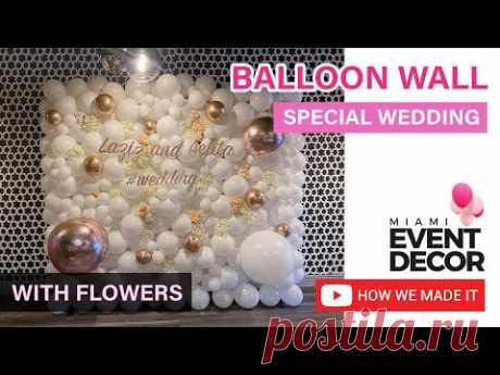 Wedding Balloon Wall   Balloon Wall Tutorial