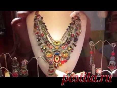 Jewelry and costume jewelry (chast1) Spain. - YouTube