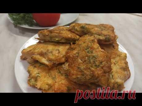 Сочные и нежные отбивные из куриной грудки в кляре с сыром