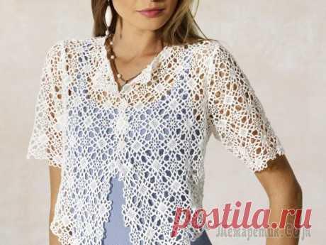 Вязание красивой блузки крючком для начинающих — для женщин, девочек