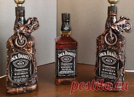 EXCLUSIVE Christmas Gift Jack Daniels Whiskey Bottle lamp | Etsy