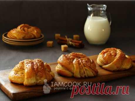Шведские булочки с корицей — рецепт с фото