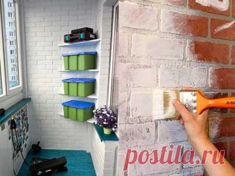 Как покрасить кирпичную стену   Роскошь и уют