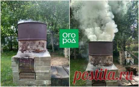 Печь для сжигания мусора от Леонида Котляра – как построить за 3 дня | Личный опыт (Огород.ru)