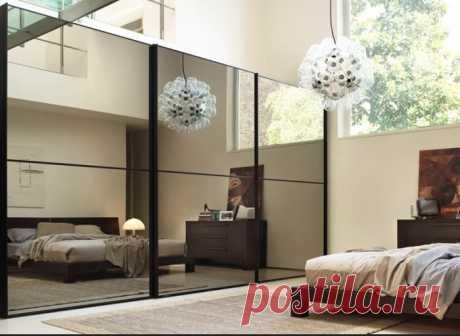 Необычное использование зеркал в интерьере   Мой дом