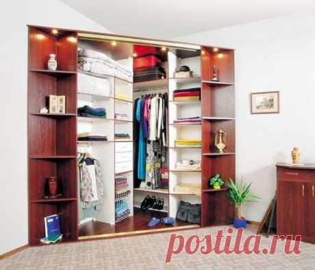 Преимущества углового шкафа-купе и множество фотопримеров