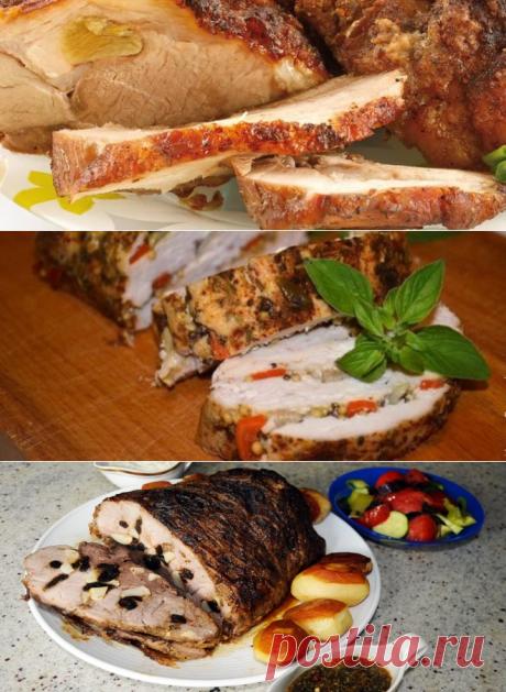 Лучшие рецепты буженины в духовке – из курицы, свинины и говядины