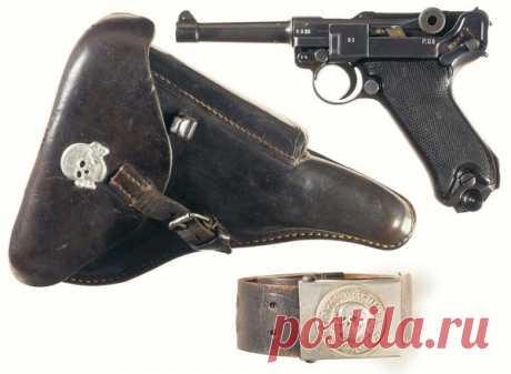 Легендарное оружие Георга Люгера: пистолет Parabellum   Lockwork. Об оружии   Яндекс Дзен