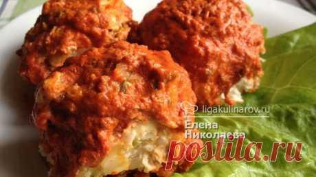 Ленивые голубцы диетические из курицы – рецепт с фото от Лиги Кулинаров, пошаговый рецепт