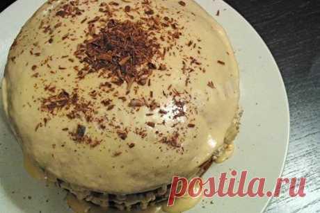 """Торт """"Кофейная симфония"""" рецепт с фото - 1000.menu"""