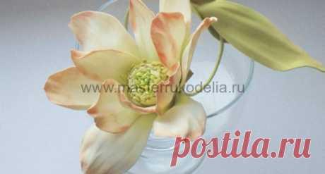 Цветы из фоамирана, мастер-класс   Мастер-классы по рукоделию