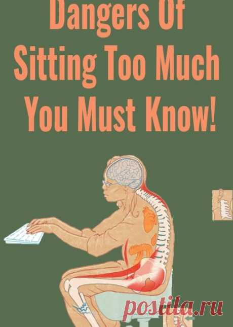 Health 10 Scary Dangers Of Sitting Too Much You Must Know