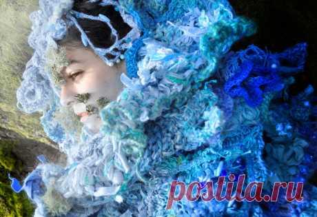 Колдовское вязание фриформ ✾ Mandy Greer | Вяжем крючком с Ольгой Ингрией | Яндекс Дзен
