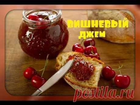 La mermelada\/muy de guinda la receta\/cherry simple jam