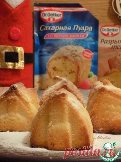 Лимонные кексы с ликёром – кулинарный рецепт