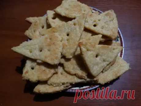 Сырное печенье «Соточка» — Всегда спасает вечером: «Кино и что-то пожевать…» - Ваши любимые рецепты - медиаплатформа МирТесен